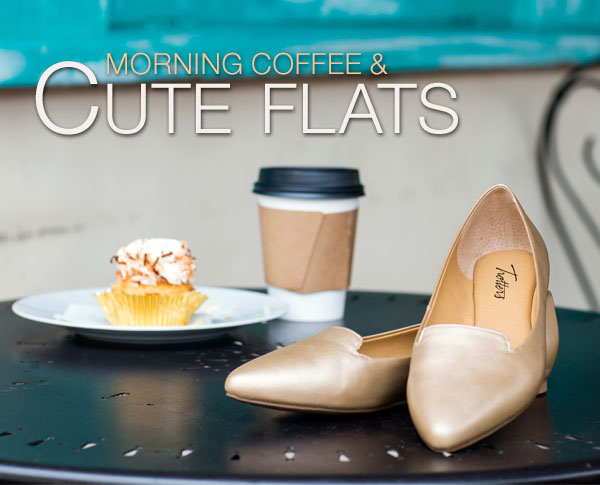 Morning Coffee and Cute Flats