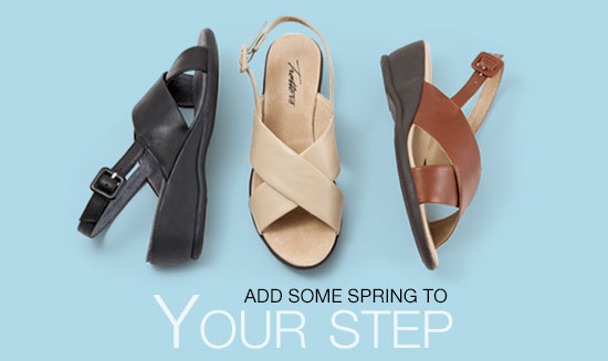 Add Some Spring to Your Step