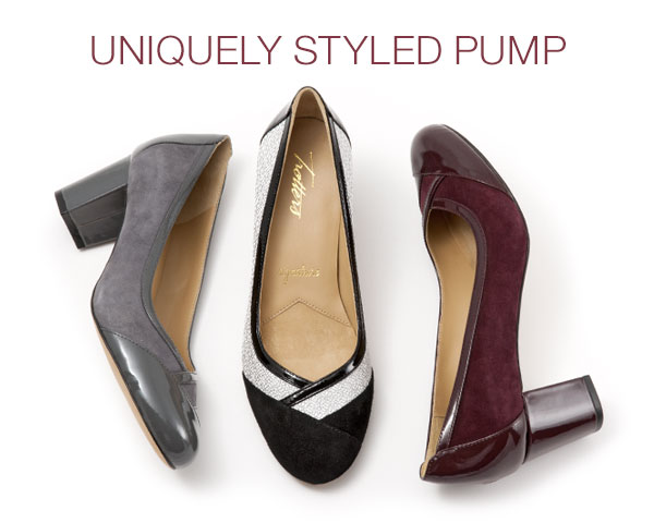 Uniquely Styled Pump