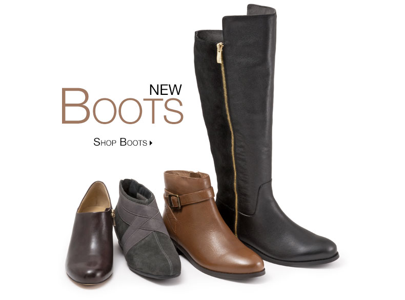 New Boots, Shop Boots