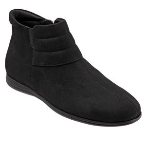 Dory Black Micro Suede