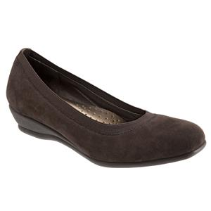 Lansing Dark Brown Suede