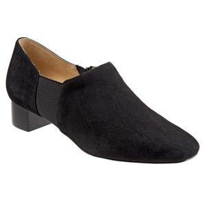 Lillian Black Suede