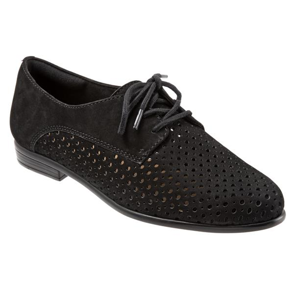 Trotters Womens Lizzie Perf Oxford