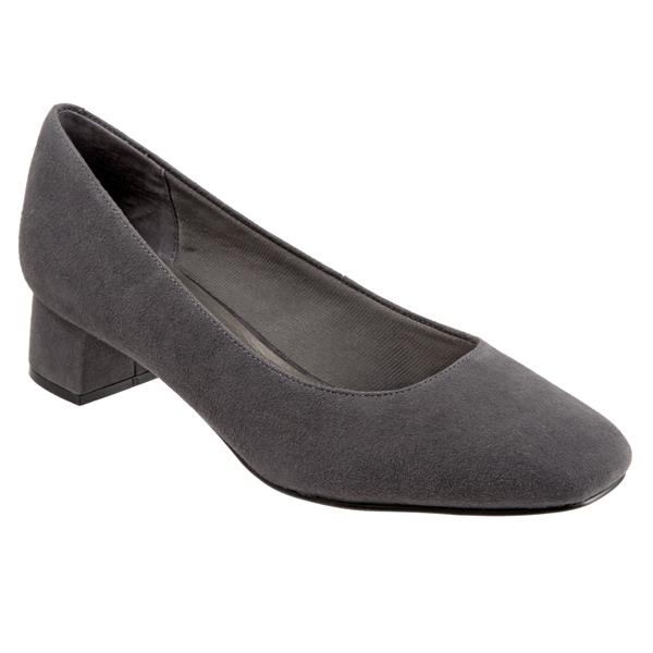 Lola Dark Grey Suede