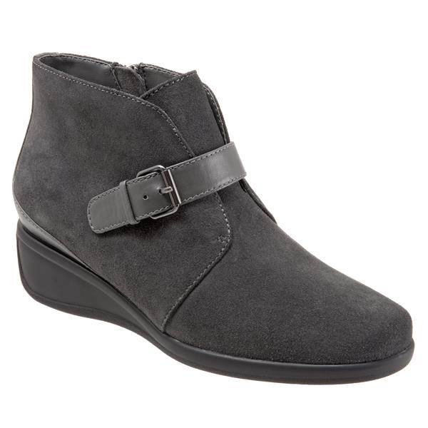 Mindy Dark Grey Suede