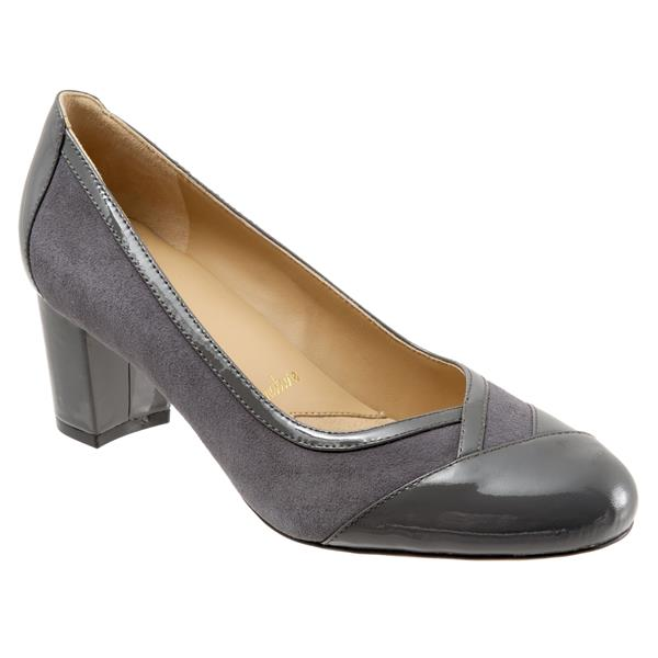 Phoebe Dark Grey Suede