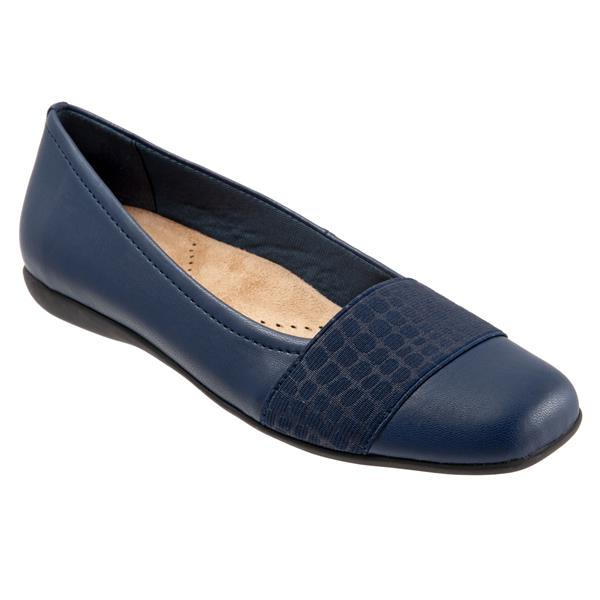 Samantha Navy Croco